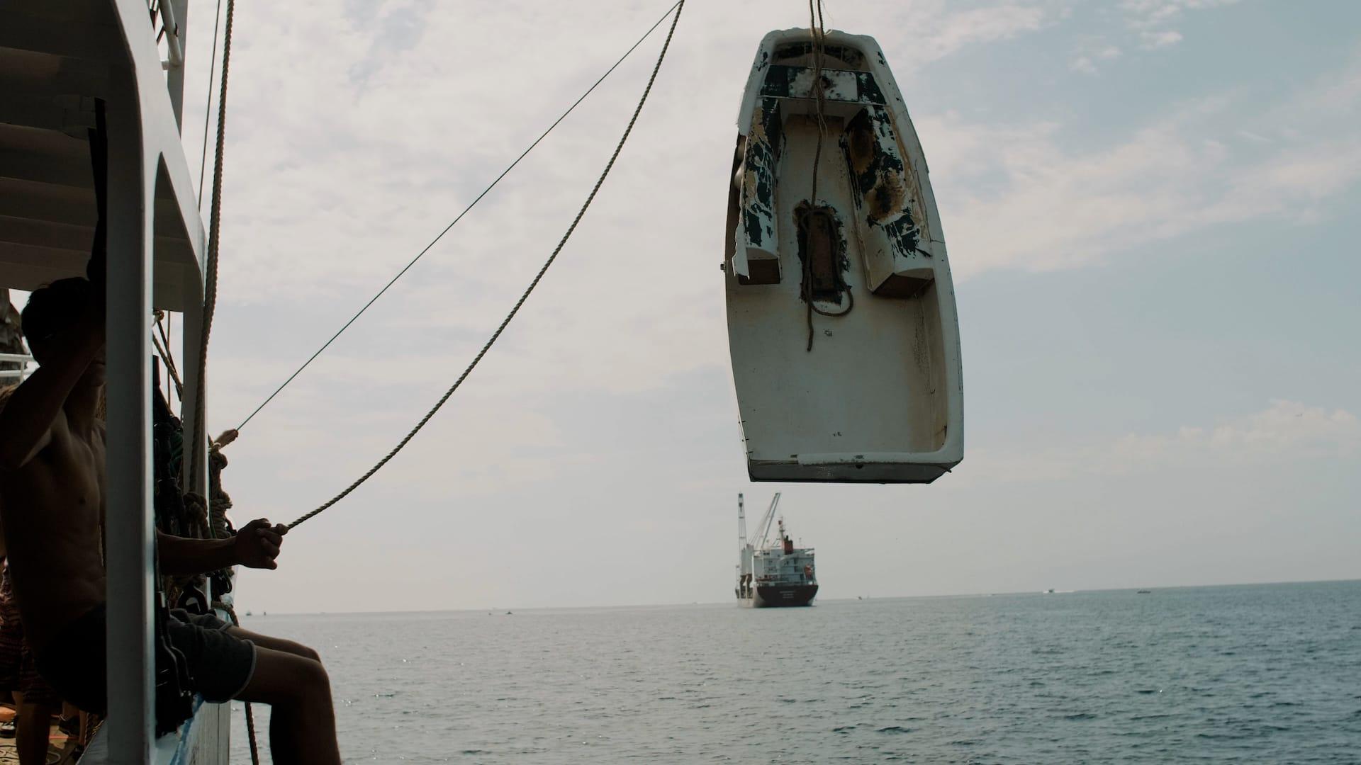 Pulizia fondali marini